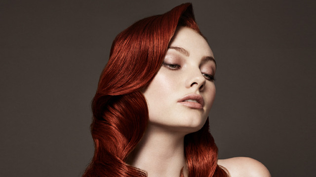 Toni & Guy red hair styles