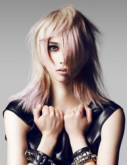 Toni & Guy long hair styles